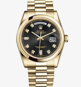 Rolex Day-Date Watch: or jaune 18 carats - M118208 -0118