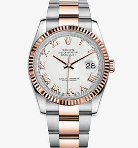 Rolex Datejust Watch: Everose Rolesor - combinaison d'acier 904L et 18 ct or Everose - M116231 -0092