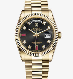 Rolex Day-Date Watch: or jaune 18 carats - M118238 -0394